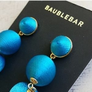 BaubleBar Jewelry - NWT BAUBLEBAR Thread Ball Drop Earrings